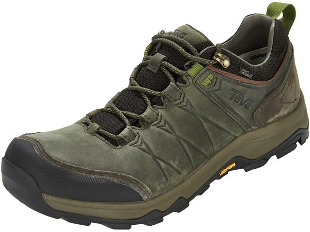 Teva Arrowood Riva WP Miehet kengät , musta/oliivi